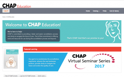 How Community Health Accreditation Partner (CHAP) leverages Elevate LMS