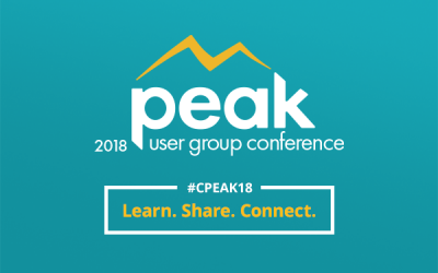 Insights From Our Initial Peak User Conference