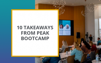 10 Takeaways from CP's Peak Bootcamp