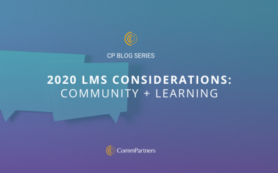 2020 LMS Considerations: Community + Learning