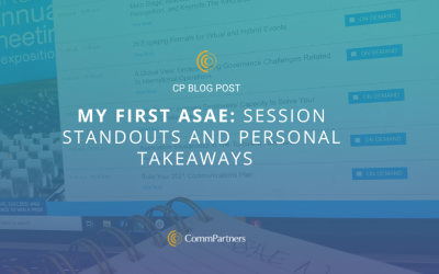 My First ASAE: Session Standouts and Personal Takeaways