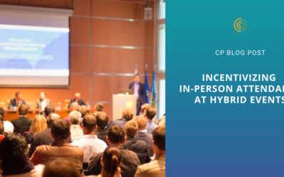 Incentivizing In-Person Attendance at Hybrid Events